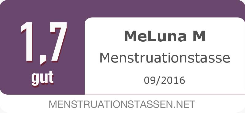 Testsiegel: MeLuna M Menstruationstasse