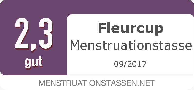 Testsiegel: Fleurcup Menstruationstasse