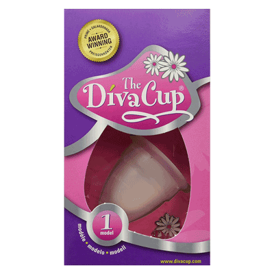 "Die Menstruationstasse ""The DivaCup"""